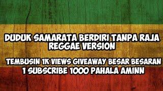 Gambar cover MARA FM - SAMARATA ( DUDUK SAMA RATA BERDIRI TANPA RAJA ) REGGAE VERSION