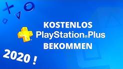 Playstation Plus Kostenlos Bekommen ! [2020]