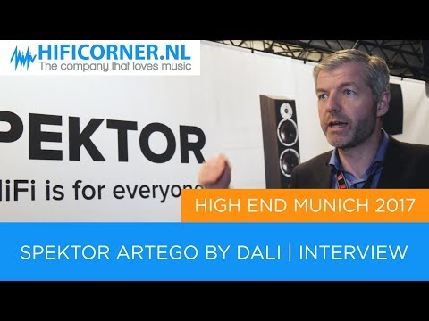 Dali Spektor Artego Interview | High End Show Munich 2017 from YouTube · Duration:  1 minutes 33 seconds