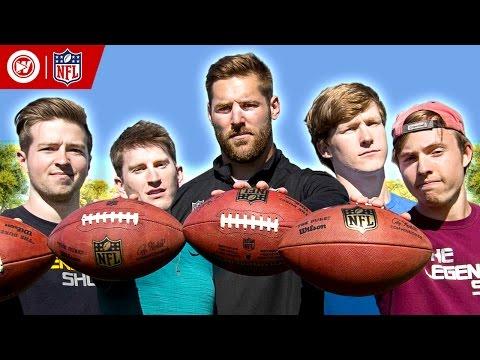 Legendary Shots Battle: NFL Pro Bowl Skills Showdown
