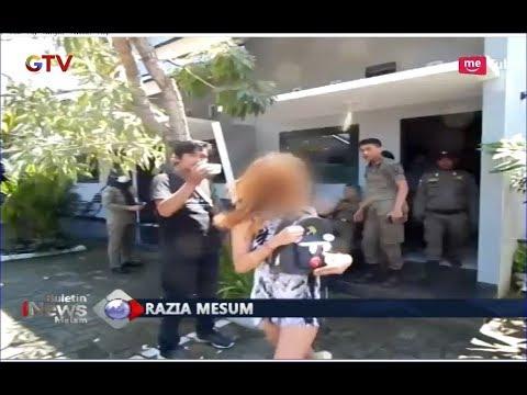 Petugas Satpol PP Gelar Razia Mesum Di Hotel Melati Di Kudus - BIM 03/05