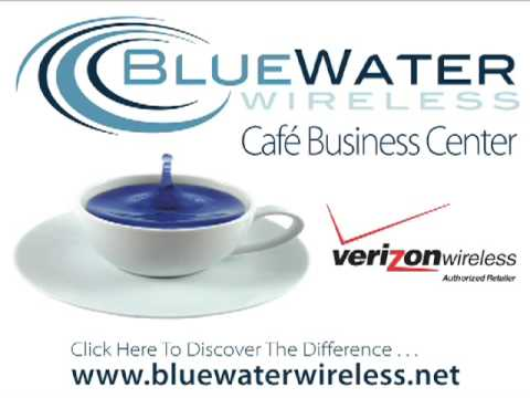 Bluewater Wireless - Cafe Business Center - Commercial - Verizon