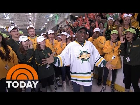 Rokerthon: Al Roker Takes A Victory Lap At SUNY Oswego After A Record-Breaking Week | TODAY