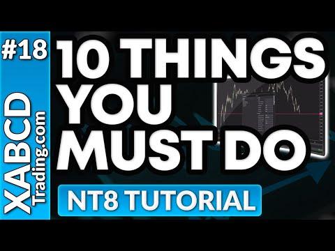 10 things to do AFTER you install NinjaTrader 8