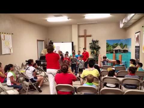 Taylor Christian School VBS bell choir