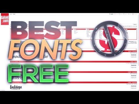 TOP 5 BEST FREE SIGNATURE/HANDWRITTEN FONTS FOR GFX!