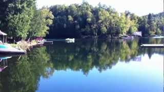 Chalet à louer à Wentworth-Nord - Le refuge du plaisir : La vue du lac