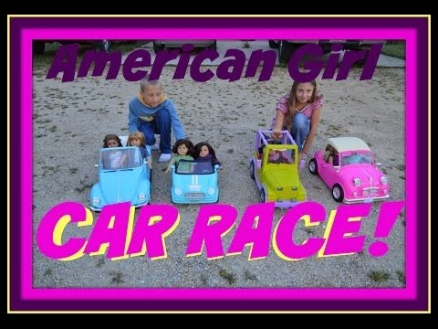 All Our American Girl Doll Vehicles Plus Car Race Campers Scooters