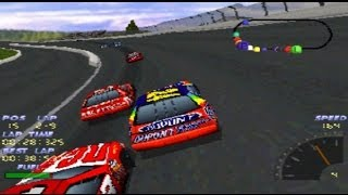 NASCAR 98 - PlayStation racing simulator video game by EA Sports
