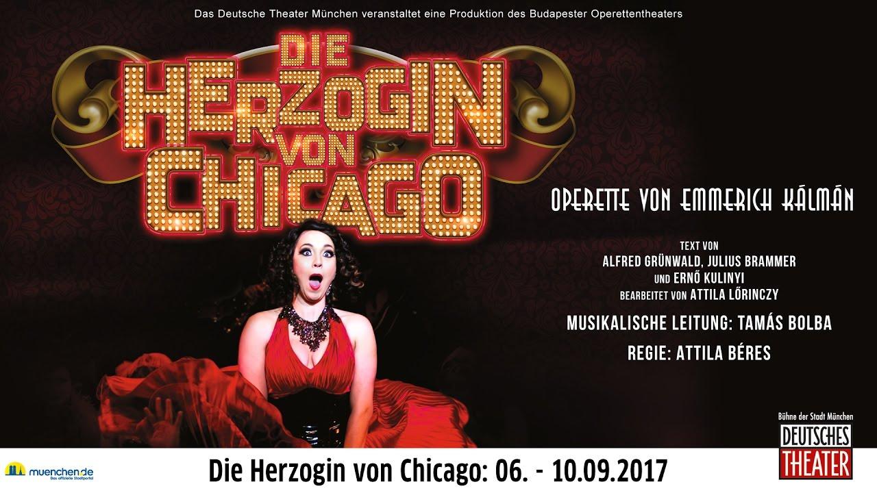 Die Herzogin von Chicago im Deutschen Theater München ...