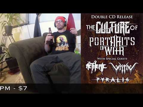 Portraits of War / The Culture of CD Release Show