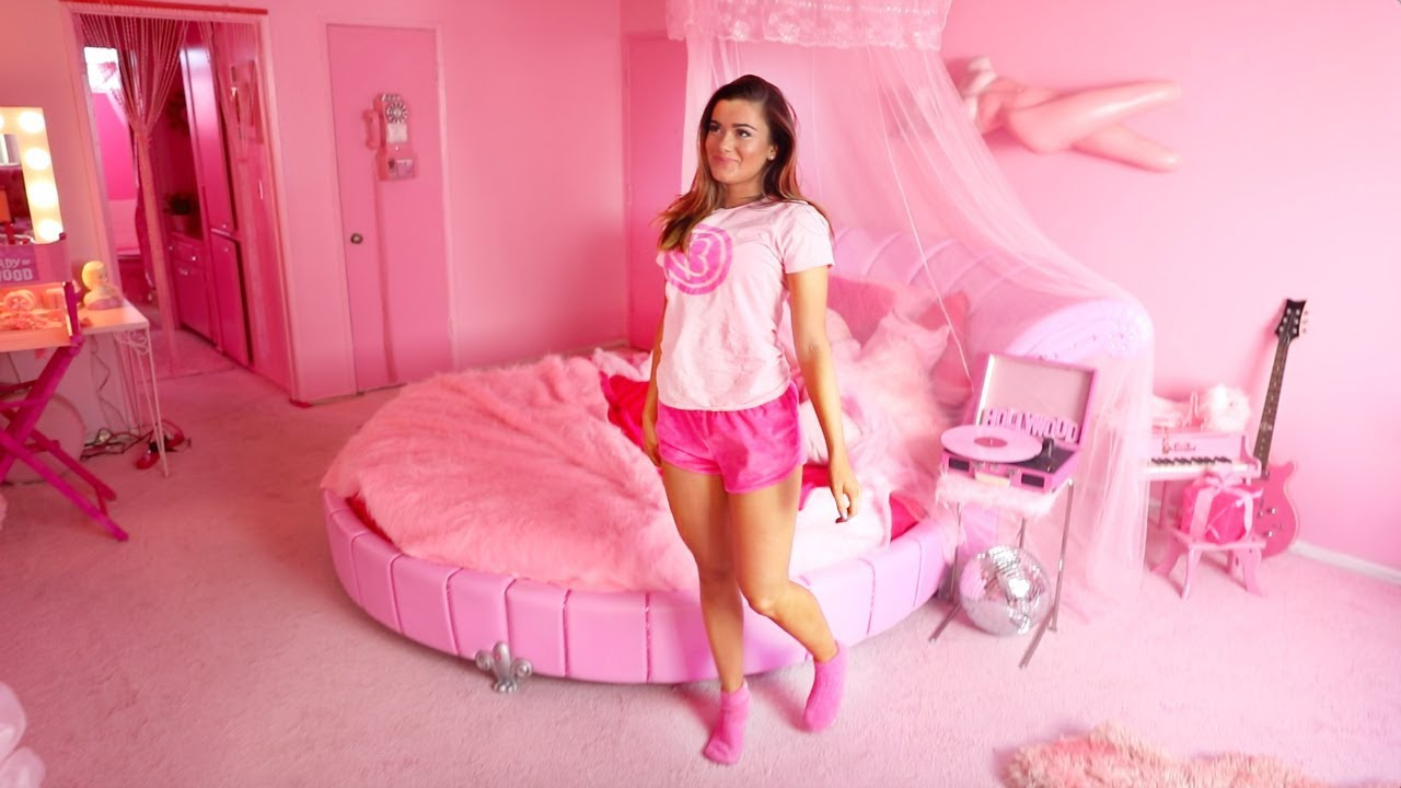 Barbies Pink Room Tour  YouTube