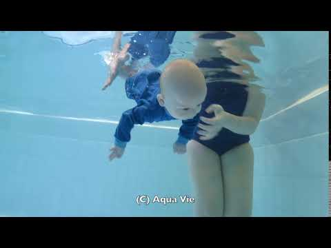 Enhance your babies natural ability to swim underwater