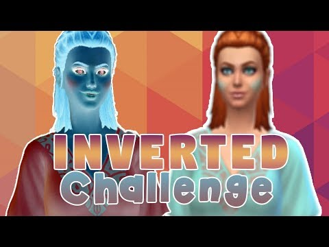 INVERTED CAS CHALLENGE - The Sims 4 thumbnail