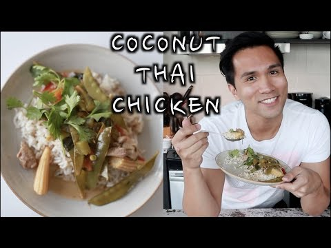 HEALTHY COCONUT THAI CHICKEN