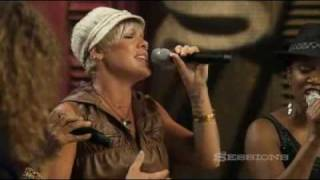 P!nk Dear Mr. President. AOL  Sessions Music