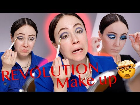 WHAT?! Makeup Revolution PRO Im TEST 🚨First Impression Von Neuem Drogerie Makeup 🍦 Hatice Schmidt