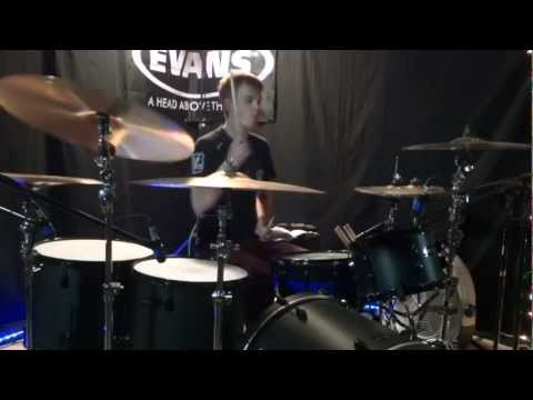 RED - Let Go - Drum Cover - Brooks