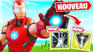 L'arme MYTHIQUE d'IRON MAN dans FORTNITE !