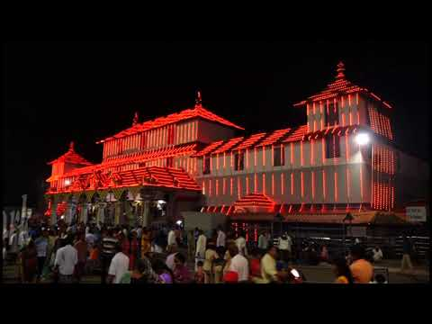 Dharmasthala Laxshadeepotsava Lighting report by Venkatesh Bende