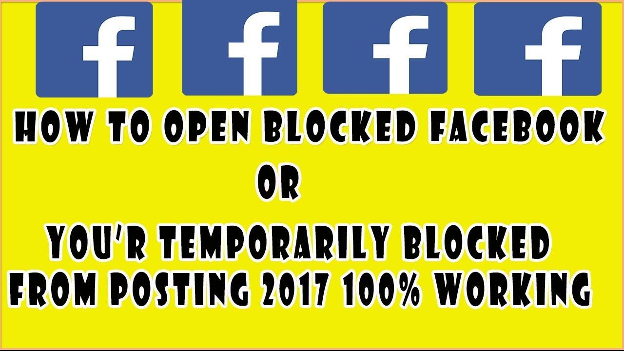 How to Open Facebook