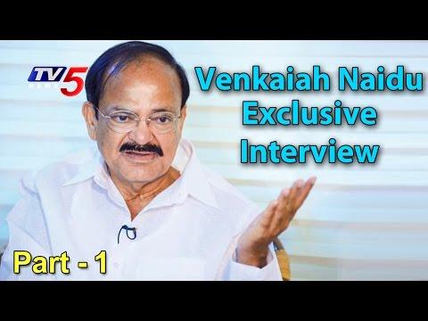 Union Minister Venkaiah Naidu Exclusive Interview | Demonetisation | The Insider #1| TV5 News