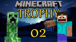 Minecraft Trophy 02 EISEN ! [DEUTSCH] [PS4]