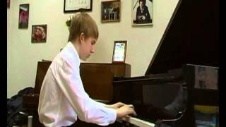 1 Кондрашов Егор Бах И С Прелюдия и фуга 2 C Moll Хорошо темперированный клавир часть 1 0