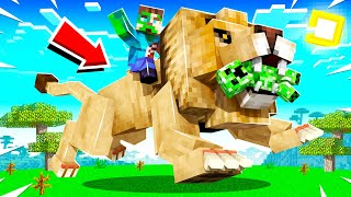 THE WORLDS BIGGEST PËT CAT IN MINECRAFT! (strong)