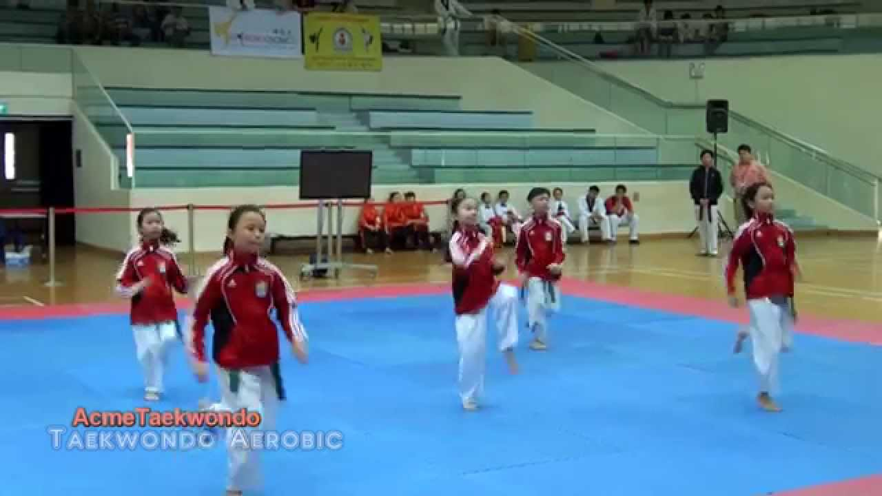 Tkd Aerobic: Warrior Dance & Bar Bar Bar (2014)