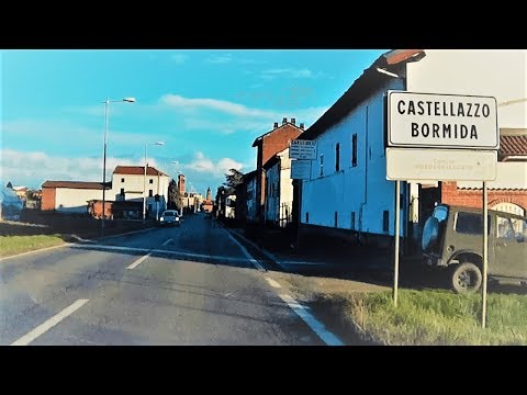 Attraversando Castellazzo Bormida (AL) - Crossing Castellazzo Bormida (Alessandria, Italy)