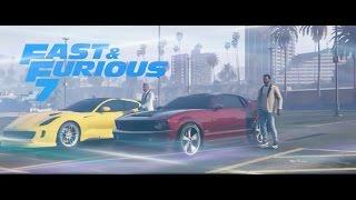 GTA 5 Fast & Furious 7 Abu Dhabi Scene