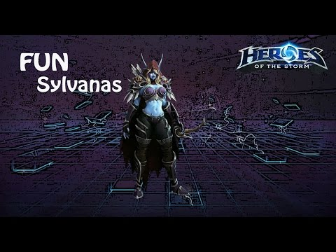 видео: heroes of the storm: top 1 eu (3 выпуск) - Сильвана