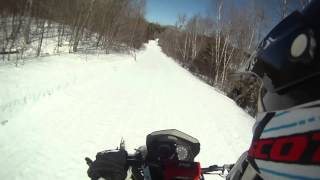 Last Sled Ride 2 - Clips and Sped Up Video