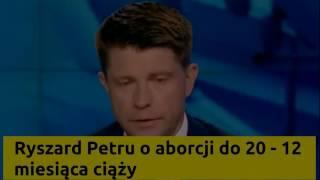 Ryszard Petru Ciąża kobiety trwa od 20 do 12 miesięcy. Petru WPADKA ŚMIESZNE