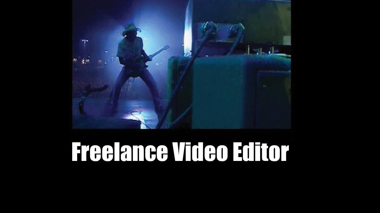 freelance video editor rates