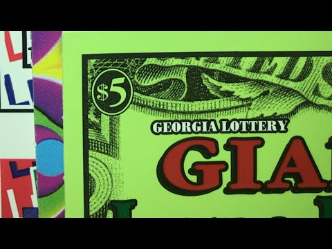 "The Gambler Went Postal And I Got Lucky ""Fun Mail Georgia Lottery Scratchoffs """