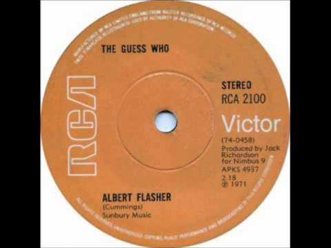 THE GUESS WHO Albert Flasher 1971 HQ
