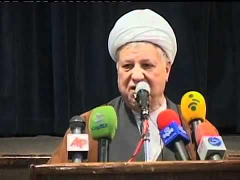 شرکت هاشمی رفسنجانی در انتخابات مجلس نهم