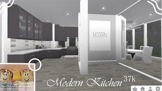 Modern Kitchen 37k | Speedbuild | ROBLOX Bloxburg