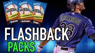 THE BIGGEST FLASHBACK PACK OPENING EVER | MLB THE SHOW 16 DIAMOND DYNASTY