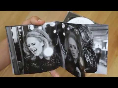 Adele - Live At The Royal Albert (CD+DVD) | UNBOXING