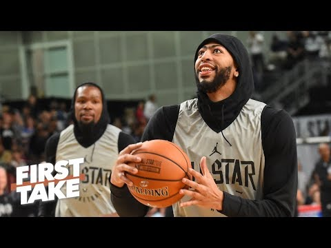 The Knicks are more stable than the Lakers, AD would be better off in NY – Stephen A. | First Take