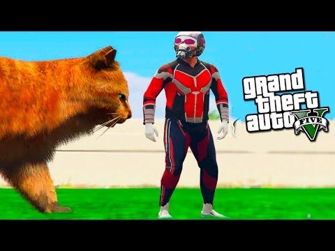 GTA 5 моды: Человек муравей - Человек муравей в GTA 5