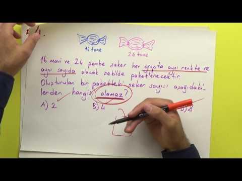 8. Sınıf - çarpanlar Ve Katlar - şenol Hoca (pratik Bilgilerle) Şenol Hoca Matematik