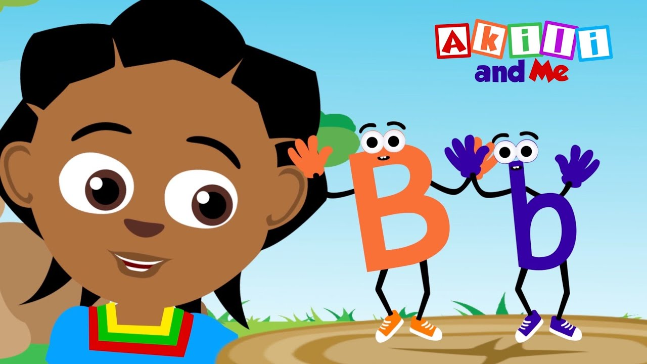 The Letter B | Educational Phonics Song | Akili and Me