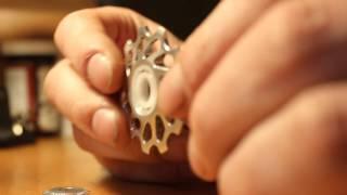 Обзор роликов заднего переключателя на керамических подшипниках