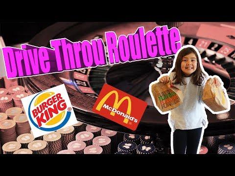 Drive Throu Roulette / Drive In Roulette Sverige Med Familjen. Challenge McDonalds Och Burger King