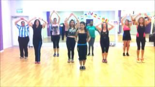 Shakira- DARE (La la la) ZUMBA® fitness class with Nadia Portnoy