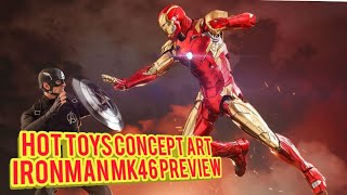 Marvel10Years #ConceptArtIronman #Ironman Our Preview of the new Ma...